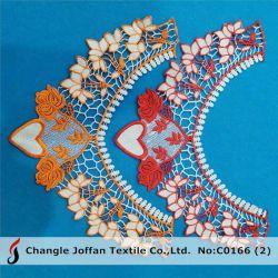 Polyester-Stutzen-Spitze-Muffen-Spitze-Guipurespitze-Spitze für Kleid-Zubehör (C0166)