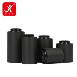 Бумага для приготовления чая и окно круглые черные Custom роскошь черного чая разные размеры трубки с бесплатным PP подарочный пакет пакет черного цвета круглой формы с цветной бумаги .