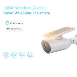 La Chine Wholesale Outdoor HD 1080p Wire-Free WiFi caméra IP sans fil à énergie solaire