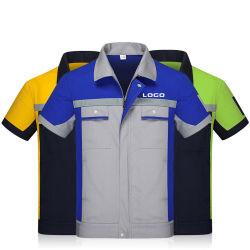 Commerce de gros des vêtements de travail de l'été à manches courtes Tee-shirts de travail et de pantalon de travail