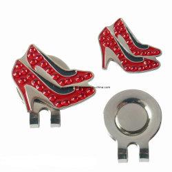 Zapatos High-Heeled -Nave de metal en forma de clip de la tapa de Golf