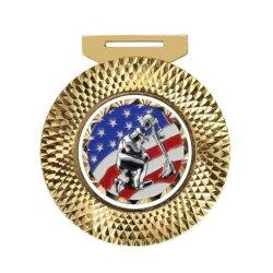 De in het groot Militaire Douane drapeert de Lege Hoogste Medailles van de Toekenning van de Medaille in Militair (087)