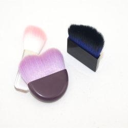 Yaqi柔らかい結び目の単一の構成のブラシとの特別なデザインコンパクトのブラシのピンクカラー