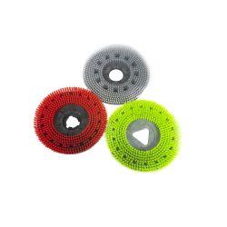 Personalizable eléctrico Cepillo de limpieza del Piso Piso de madera cepillo de nylon disco girar el cepillo de fregar el piso