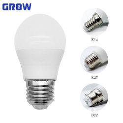G45 7W Potência baixa luz LED lâmpada com Marcação RoHS certificado EMC Driver LC