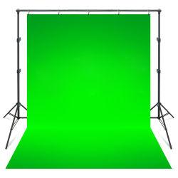Studio verde solido della foto della priorità bassa del contesto di fotographia