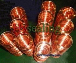Le joint métallique de soft de fer, de l'Inconel, Ti, de cuivre