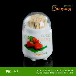 Precios baratos desechables ecológicos de alta calidad degradables Bambootoothpick Caja de madera de 2,0 mm de diámetro de embalaje