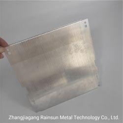Superconductor compuesto térmico de aluminio plano tubo con el refrigerante