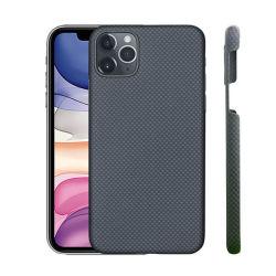 Ultra leve de fibra de aramida caso telefone iPhone em fibra de carbono caso a cobertura de celular acessórios para telemóvel