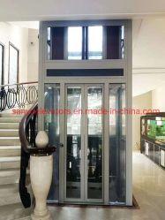 Elevador panorâmico elevador todo o vidro Design de porta