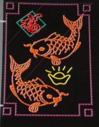 La tradición china corte de papel llevado Motif Lights (BW-CM-024-025-026)