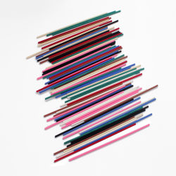 embalagem personalizada 3mm4mm Difusor aroma Sticks de palheta de cores