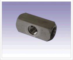 Pezzo tornio in acciaio per cartone (macchina CNC)