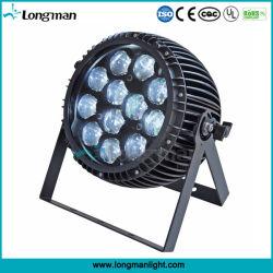 Outdoor 12PCS 15W RGBW 4in1 Zoom PAR Kan LED voor Party