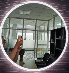 LED de parede decorativos banheiro inteligente de luz LED espelho anti neblina espelho da Tela de Toque