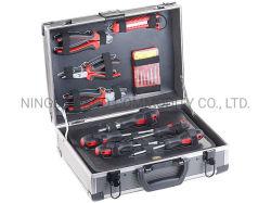 مجموعة أدوات البيع الساخن في حقيبة الأدوات المعززة بالألومنيوم الأداة