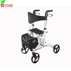 Ligero de aluminio Compras Rollator caminador Medical ayudas para caminar para discapacitados o ancianos