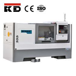 Df1860-E Automatic Metal LaThe Machine Flat Bed CNC Lathe