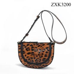 Sacchetto di Tote a doppio uso di modo con la borsa delle signore della stampa del leopardo