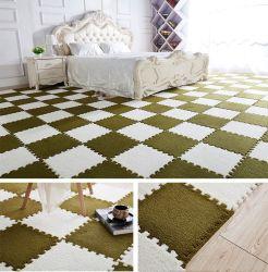 Espuma de EVA tapete tapetes tapetes de pelúcia suave para a sala de estar