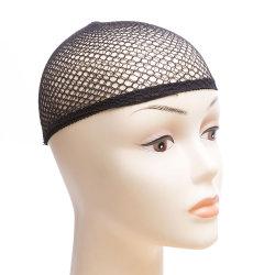 Tejer redes peluca Hairnets Malla Dome peluca la tapa para la realización de las Pelucas Tamaño Libre en Nylon Cabello Tapa de la red