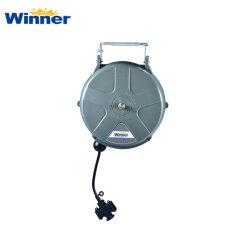Nous avons2510 Alimentation électrique de 10m de câble à ressort en plastique de l'enrouleur de cordon rétractable du rabatteur