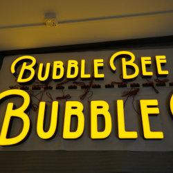 Pubblicità commerciale personalizzata Outdoor impermeabile 3D Letter Light Channel LED Cartelli per edifici