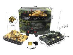 Serbatoio sano del grande del regalo del giocattolo giocattolo telecomandato di 1:32 4-CH & chiaro realistico di RC