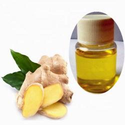 Venda por grosso de aditivo alimentar Natural Óleo de raiz de gengibre Nº CAS 8007-08-7