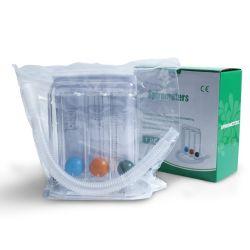 ホールセールポータブル 3 球呼吸用エクササイズスピルメータ、 CE ISO 付