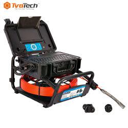 فيديو CCTV جهاز إرسال يعمل بتردد 512 هرتز دفع الكاميرا خط أنابيب الصرف الصحي للتسوية الذاتية تحت الماء فحص الكاميرا