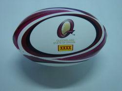 Pelota de Rugby de cuero cosida a máquina (XFM-07)