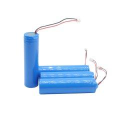 De Navulbare Batterij 2000mAh van China 3.7V 18650 met PCM en Schakelaar