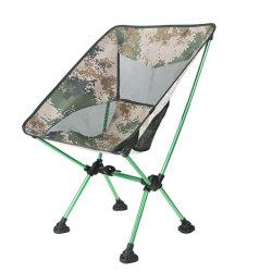 Camping chaise avec de grands pieds pour le sable ou endroit boueux