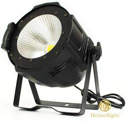 سعر المصنع IP20 DMX512 LED 100 واط ضوء أبيض دافئ COB لقاعة المؤتمرات استديو حفلات الزفاف