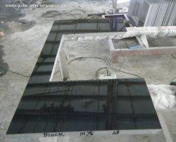 La Mongolie de haute qualité personnalisés/Chine comptoirs de granit noir Vanity Tops pour la maison les armoires de cuisine salle de bains meubles Design