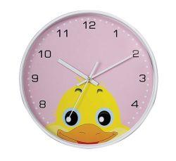 أنواع مختلفة من الرسوم الكاريكاتورية من الحيوانات بالجملة ساعة حائط مستديرة ل الأطفال