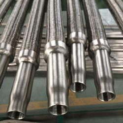 Tubo flessibile del metallo/flangia allentata del tubo flessibile acciaio inossidabile con il collare della saldatura