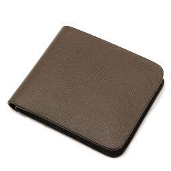 Настраиваемый логотип дизайн подлинной Saffiano Кожаное портмоне кошелек