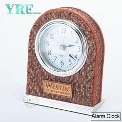 Yrf Bonitinha Fabricação couro artesanais Electronic Despertador
