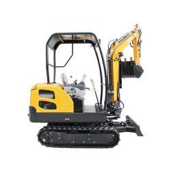 Euro 5 1,8 t Hydraulique moteur petite Digger mini-excavateur pour la vente