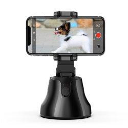 スマート自撮りスティックスタンダ 360 回転オートフェイストラッキングカメラ すべての携帯電話のスマート自動トラッキング電話ホルダ