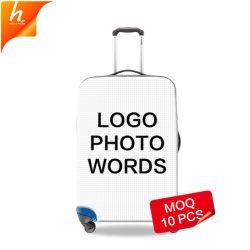 Personalizar la tapa del maletero impermeable blanco Protector de la maleta de bricolaje Accesorios de viaje