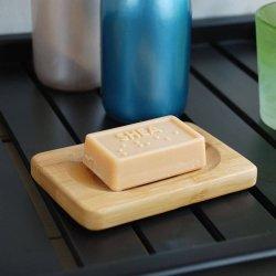 Savon de bambou en bois naturel Savon main de conteneur pour le savon d'artisanat