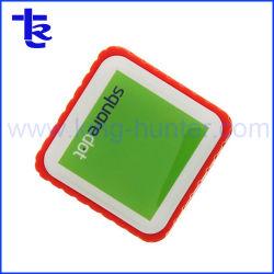 Square torça a unidade flash USB com o logotipo personalizado OEM