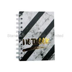 Taccuino stampato spirale di marmo del Hardcover A4/A5/A6