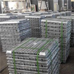 99,995% زينك زينات إنجوت معدن 99,95% زينك أللوي ألومنيوم منجوت سينجوت للبيع في الصين