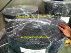 Plinthe de la courroie en caoutchouc noir
