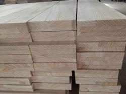 Madera inacabada Paulownia las tiras de madera para la venta al por mayor